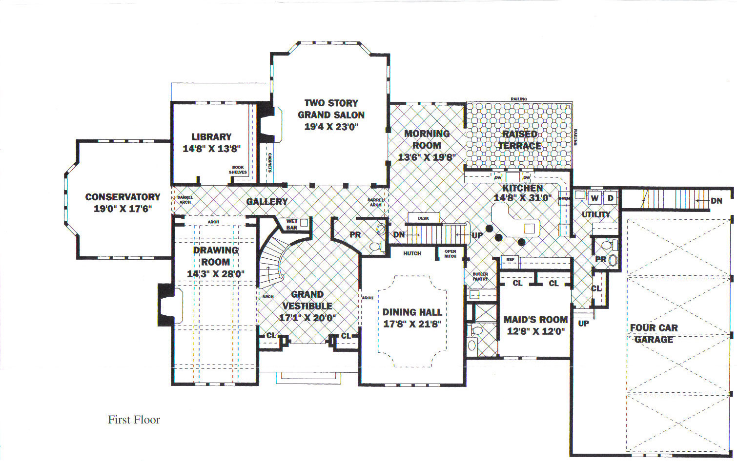 The 23 best luxury estate floor plans house plans 61087 for Luxury home floorplans